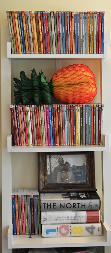 AJ's bookshelf