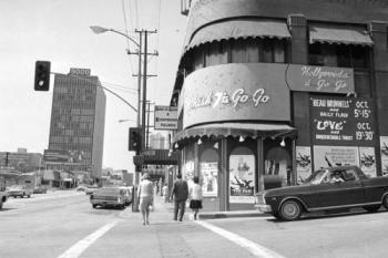 U.S. California Cities  Hollywood  Sunset Strip