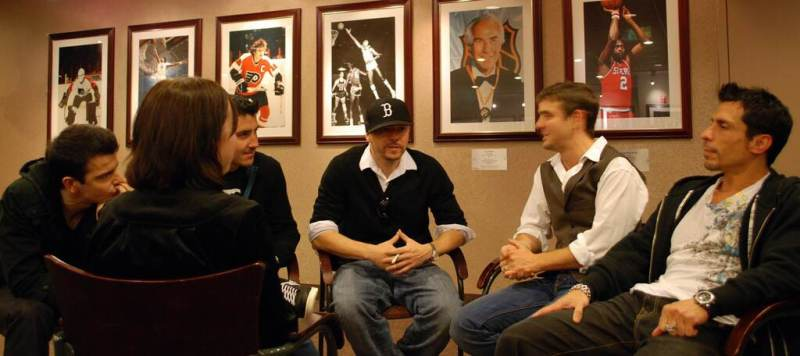 Wallwork Interviewing NKOTB