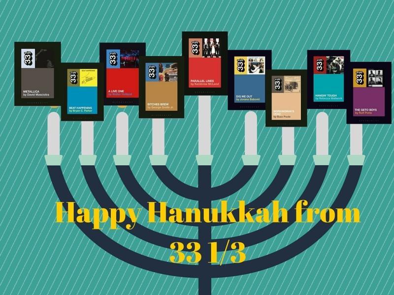 Happy Hanukkah from 33 1_3